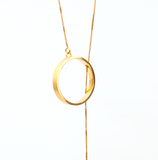 Brass Goldplated oLong Chain - Ethereal Shop