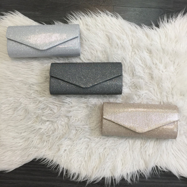 Glitter Clutch - Diva Boutique Online