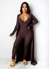 Here She Comes Jumpsuit Set