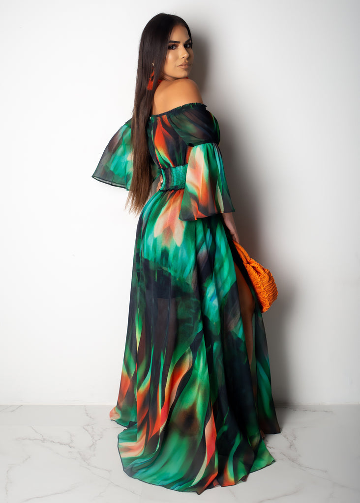Feels Like Paradise Maxi Dress