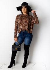 Circle Back Leopard Sweater