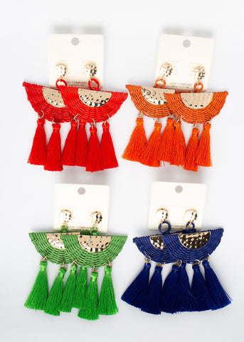 Extra Fringe Earrings