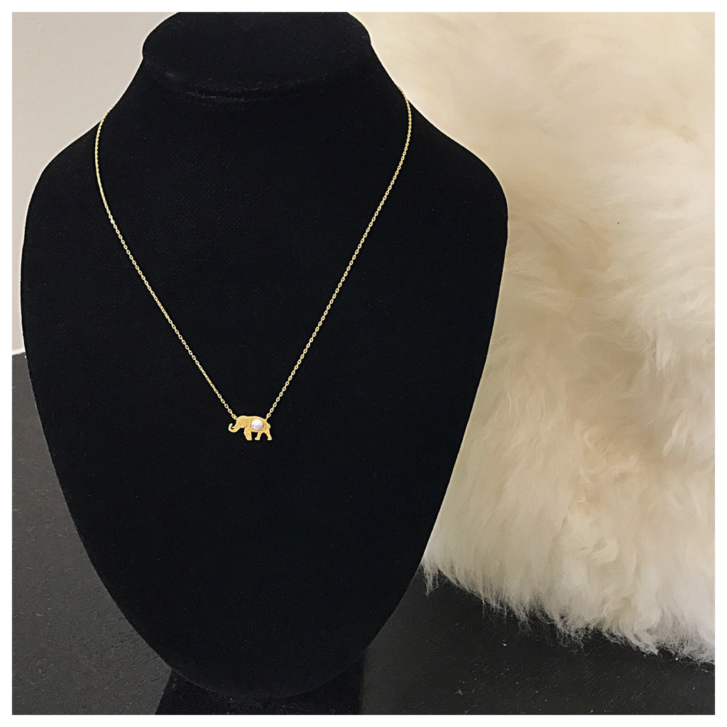 Elephant Stone Necklace - Diva Boutique Online