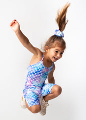 Mermaid Paradise Kids Romper
