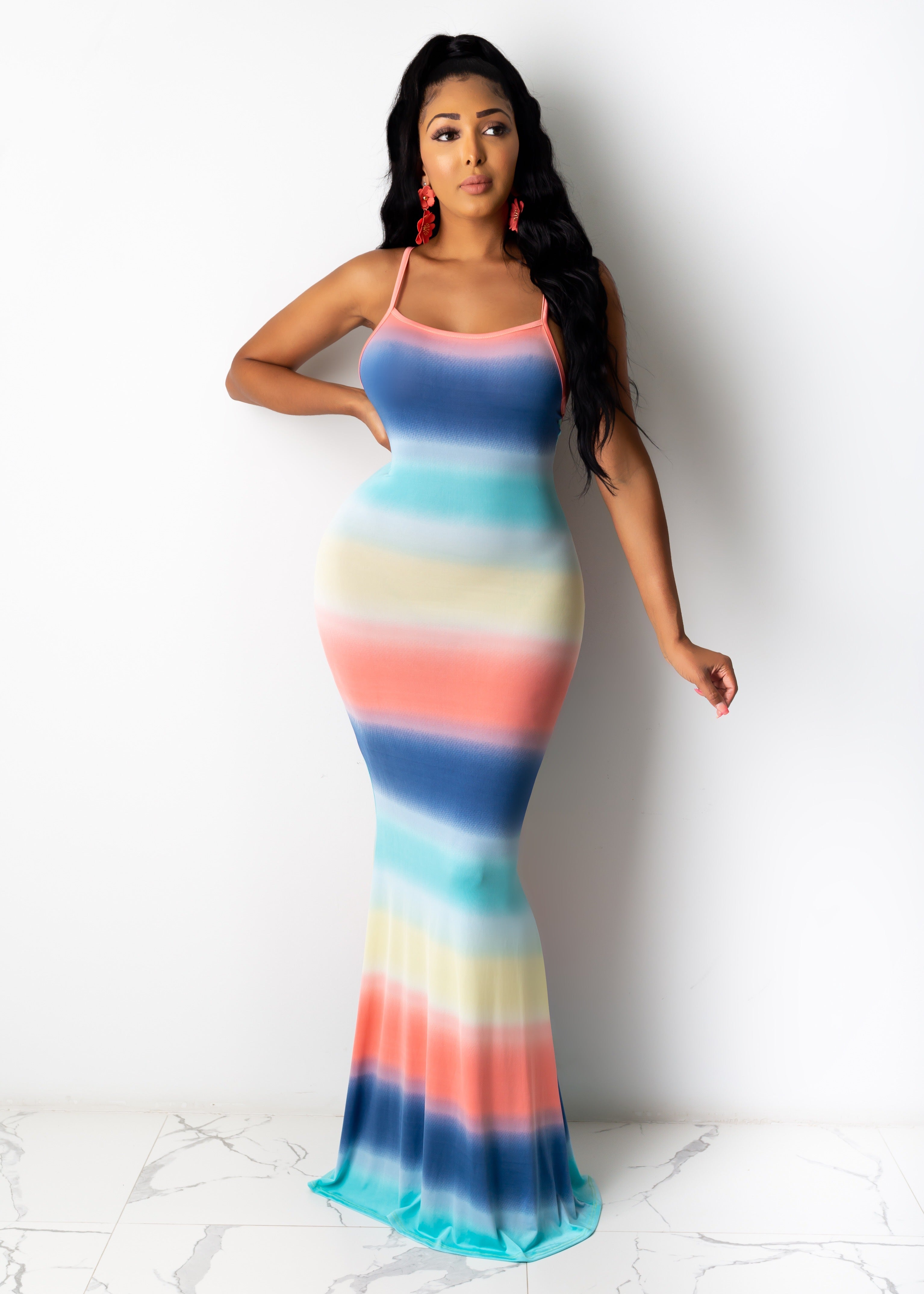 At My Best Maxi Dress