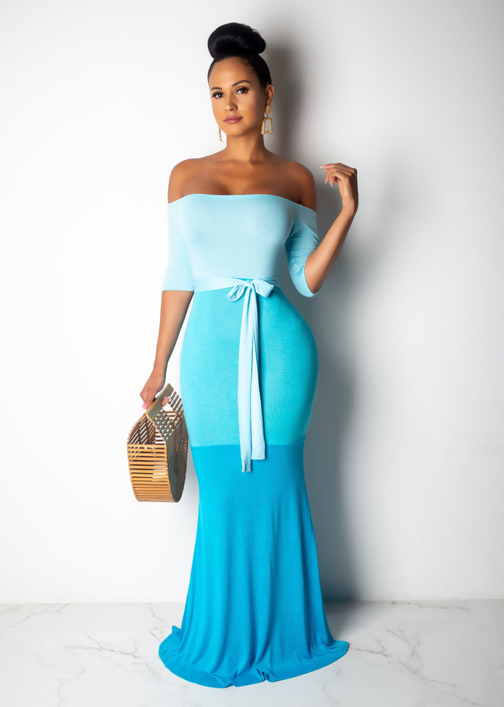Letting Go Maxi Dress