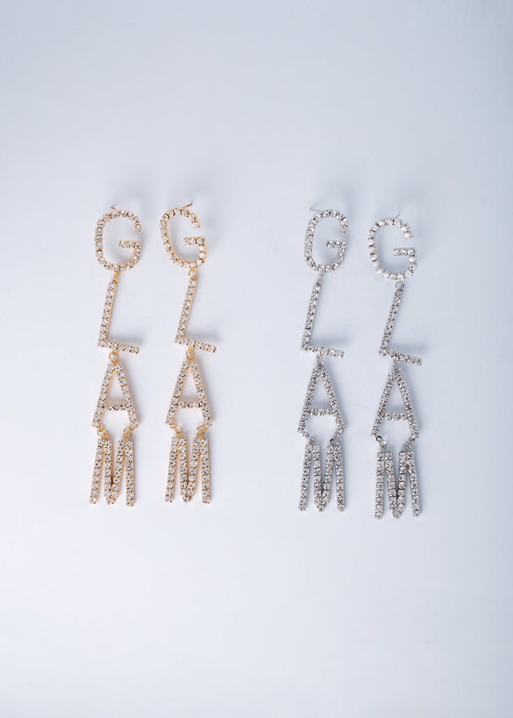 Glam Girl Dangle Earrings