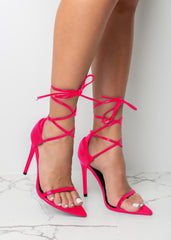Fly Like Me Fuchsia Heels