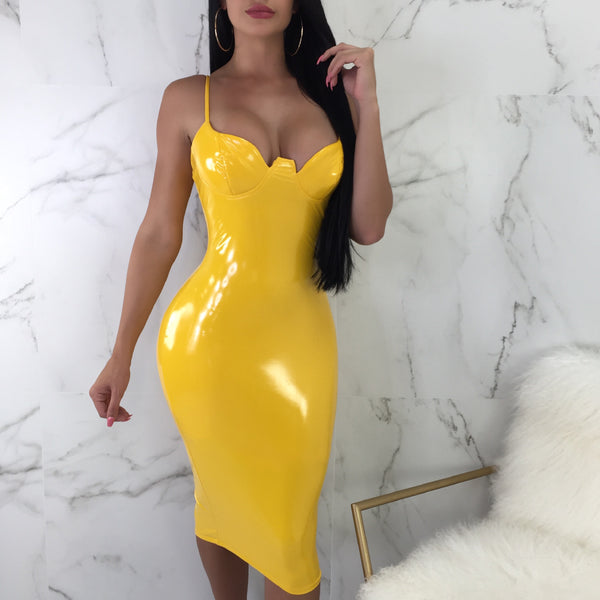 Caution Latex Mini