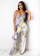 Slip On Drip Jumpsuit