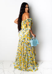 Summer Afternoons Maxi Dress