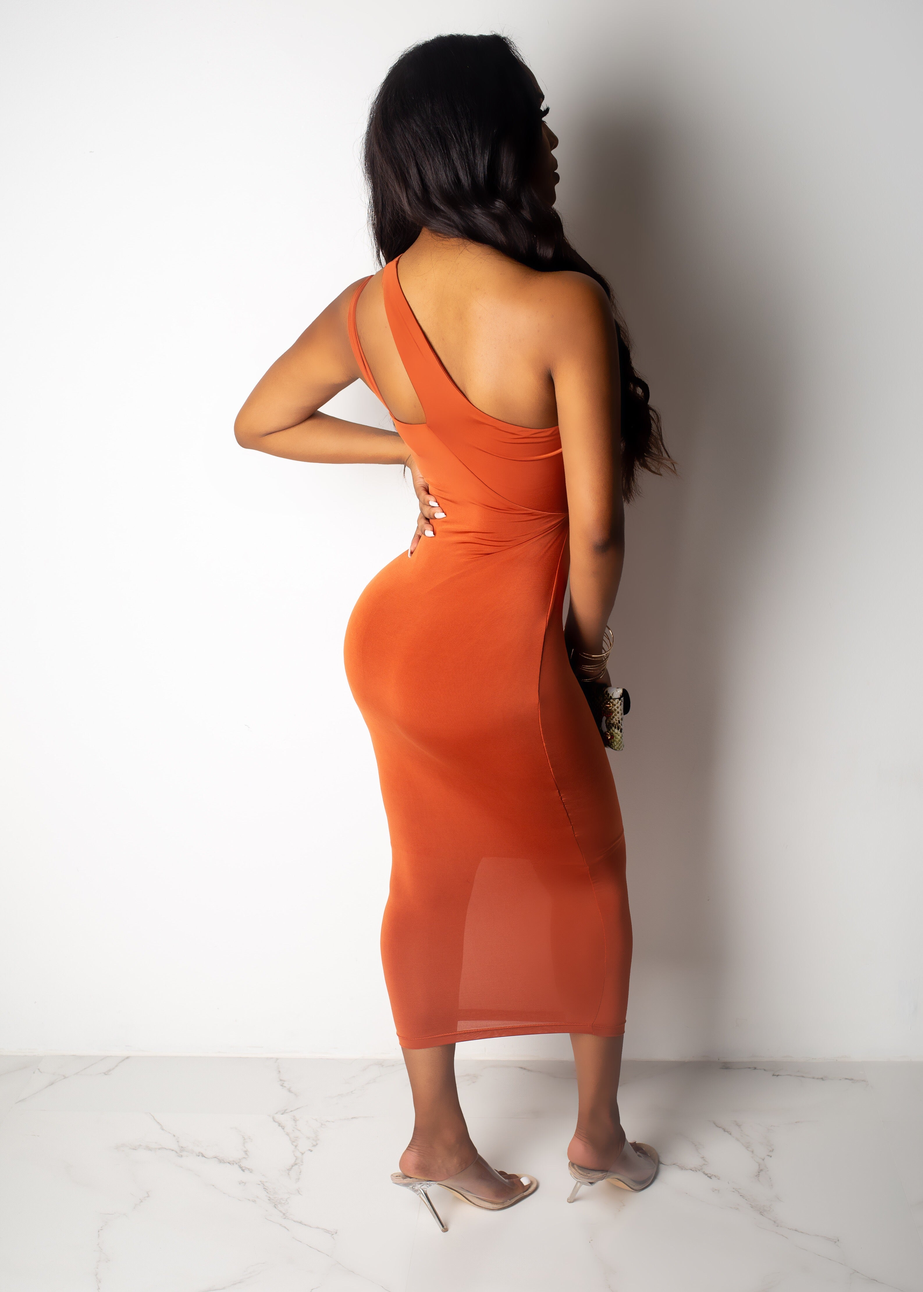 Come Through Diva Midi Dress