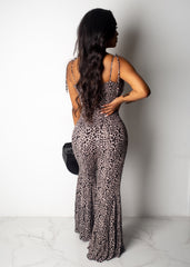 Wild Thoughts Cheetah Print Jumpsuit