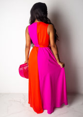 You Crossed My Mind Maxi Dress