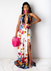 Claiming You As Mine Floral Maxi Dress