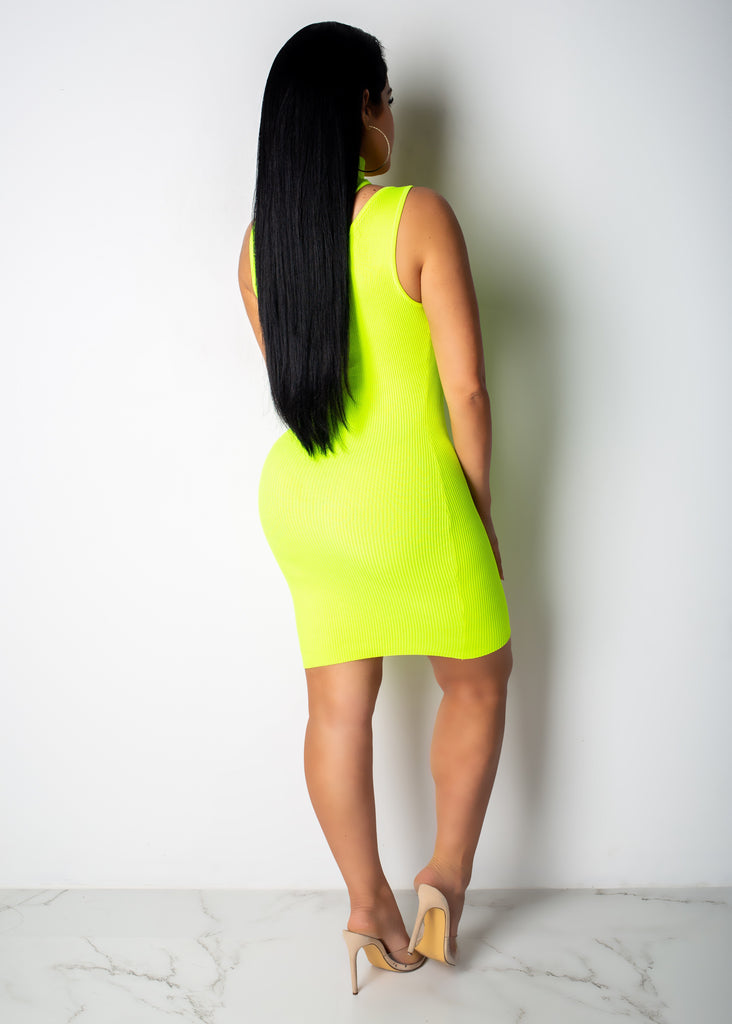 Just My Luck Mini Dress