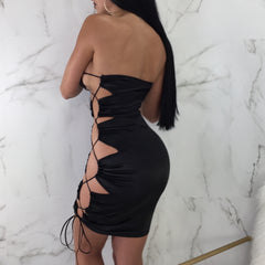 Sasha Side Lace Up Mini
