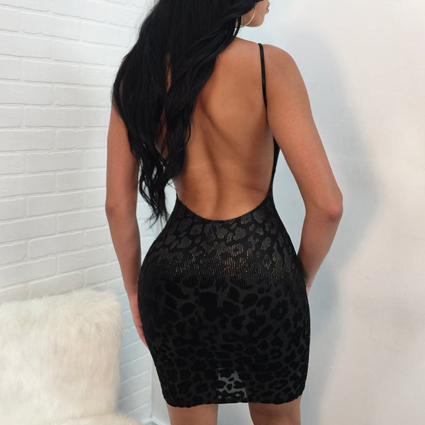 Cheetah Open Back Mini