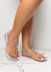Ready For It Clear Jelly Sandals