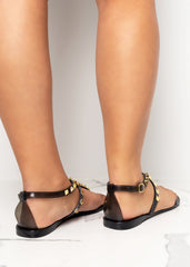 Ready For It Black Jelly Sandals
