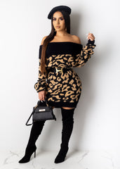 Just Wait On Me Sweater Dress