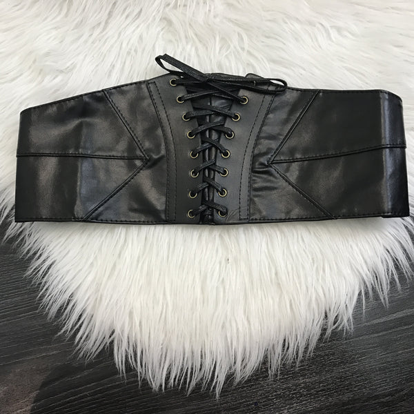Corset Leather Belt - Diva Boutique Online - 2