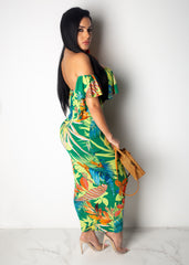 Tropical State Of Mind Skirt Set