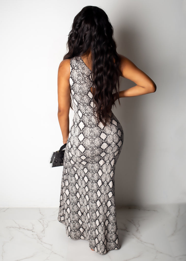 Dangerous Beauty Maxi Dress