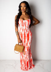 Stay Positive Maxi Dress