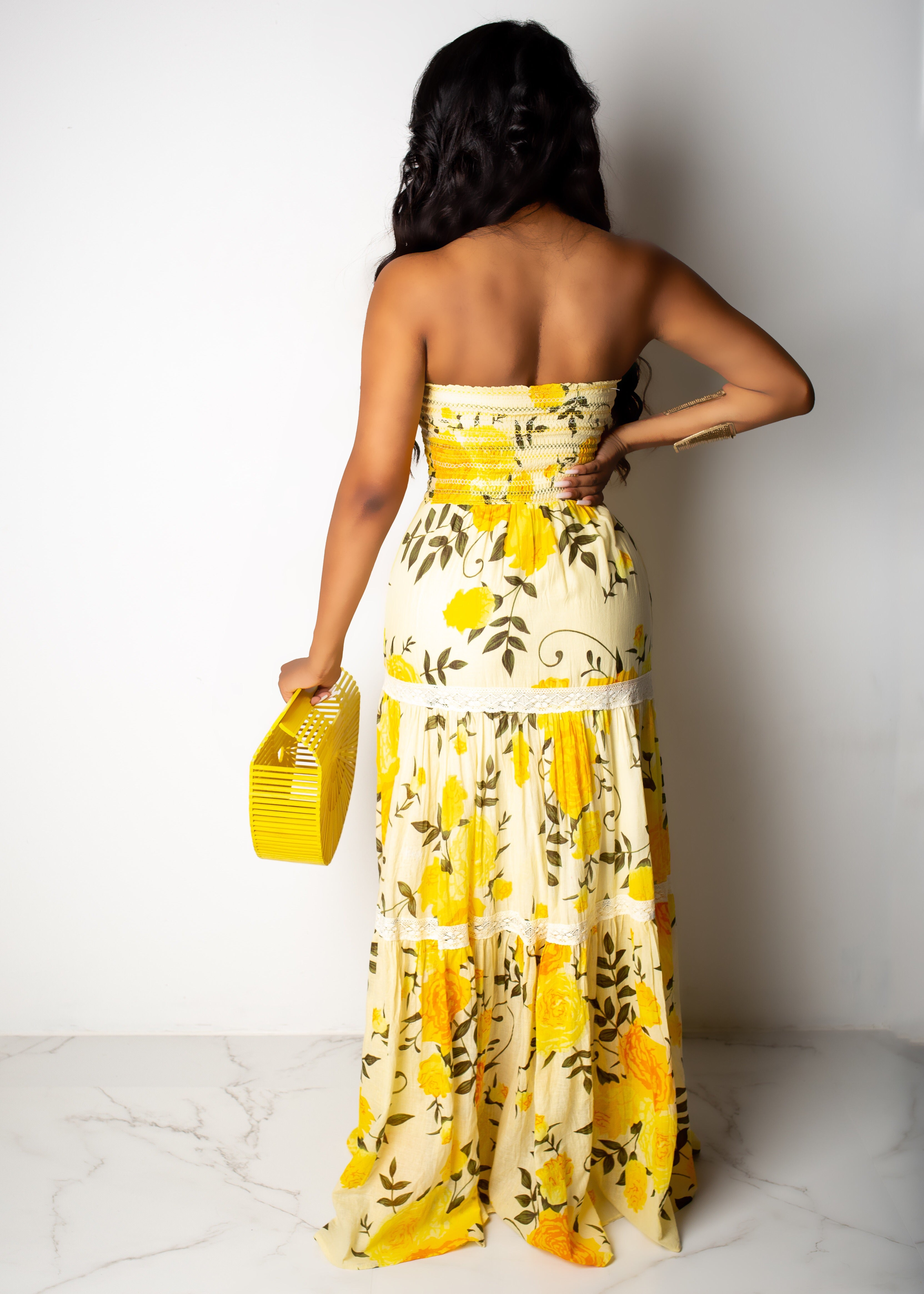 Bringing My Own Sunshine Maxi Dress