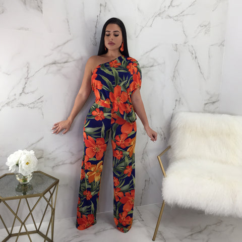 Retreat Floral Print Jumpsuit