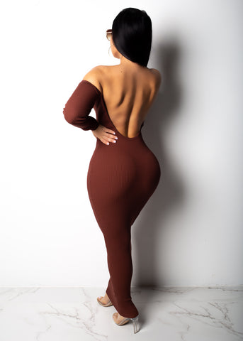 Kylie Low Back Midi