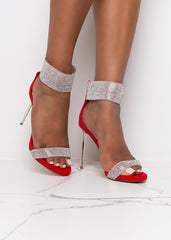 Bling All About it Red Heels