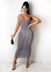 Don't Slip Away Midi Dress