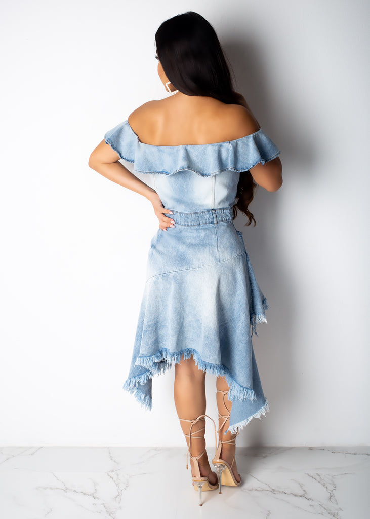 Billie Jean Ruffle Dress