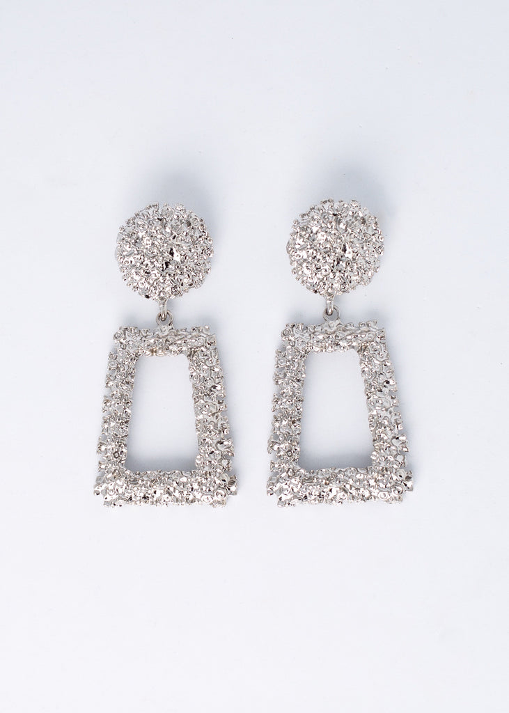 Beauty Queen Brick Earrings