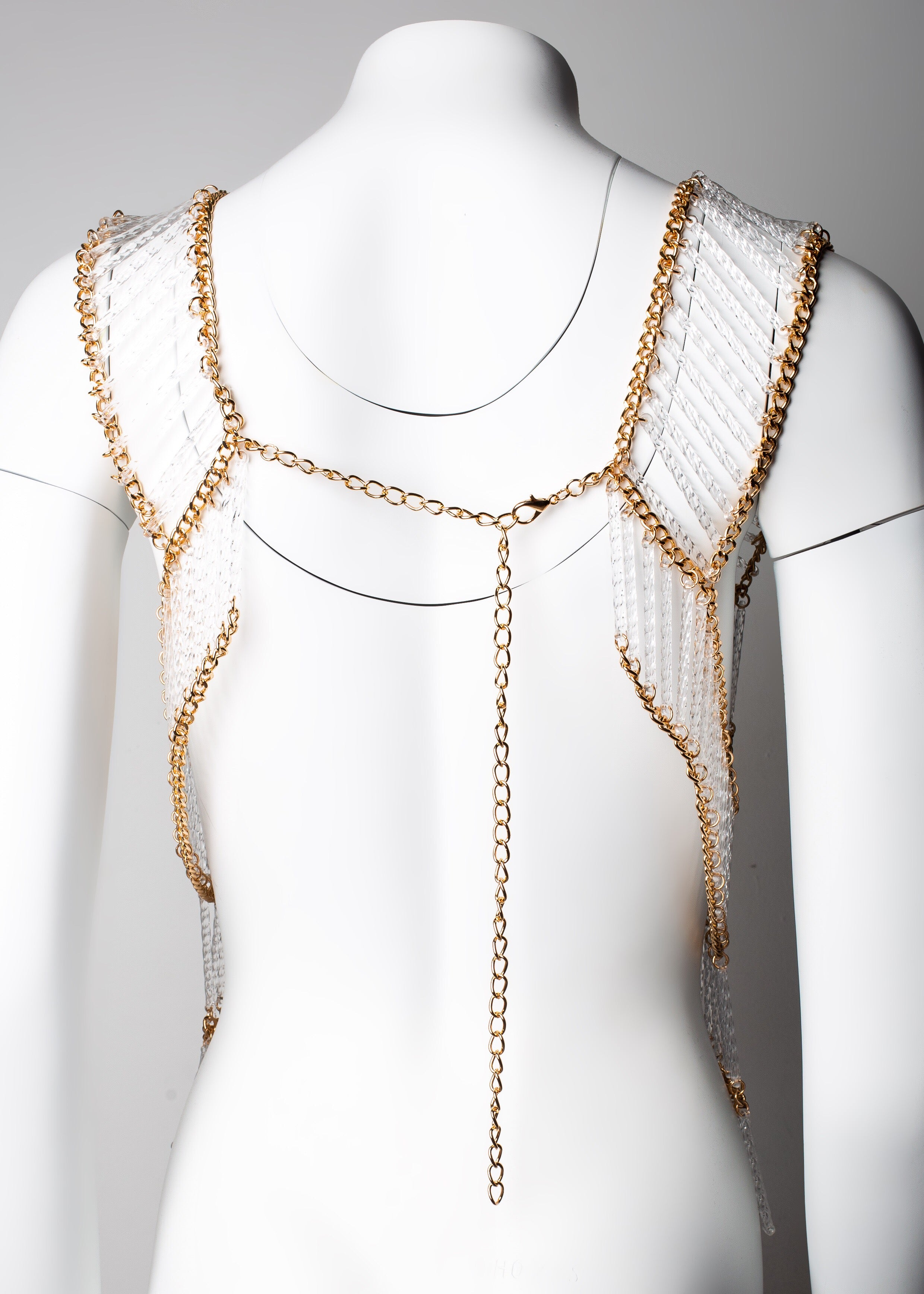 Cleo Crystal Top Necklace