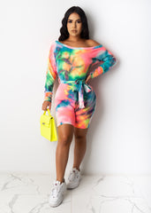 Colorful Dreams Romper