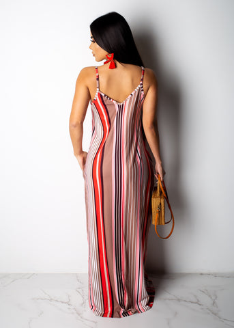 Come Chill With Me Comfy Maxi Dress