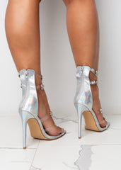 Clear The Air Hologram Heels