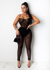Give Me Your All Mesh Jumpsuit