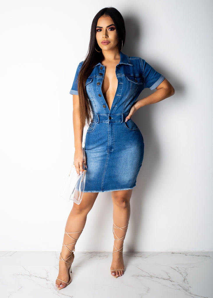 Denim For Days Mini Dress