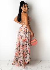 Mimosas And Chill Maxi Dress