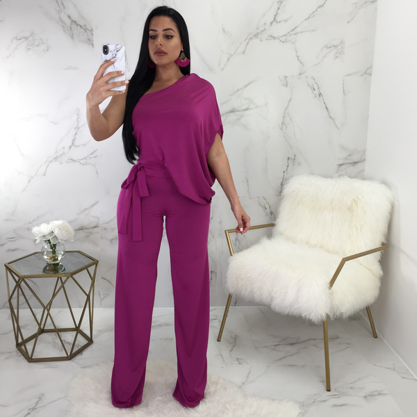 Daysy One Shoulder Jumpsuit