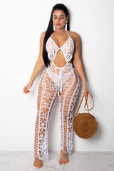 Nothing Better Than This Crochet Jumpsuit