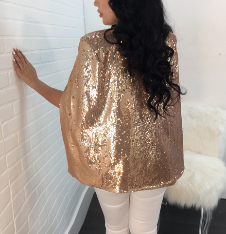Chantelle Sequin Blazer