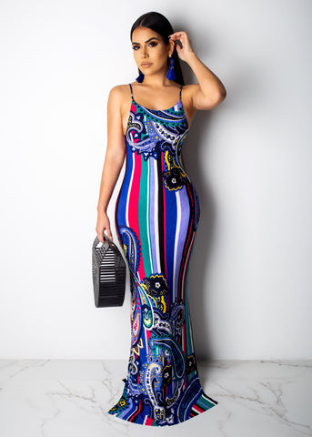 Crazy About You Maxi Dress