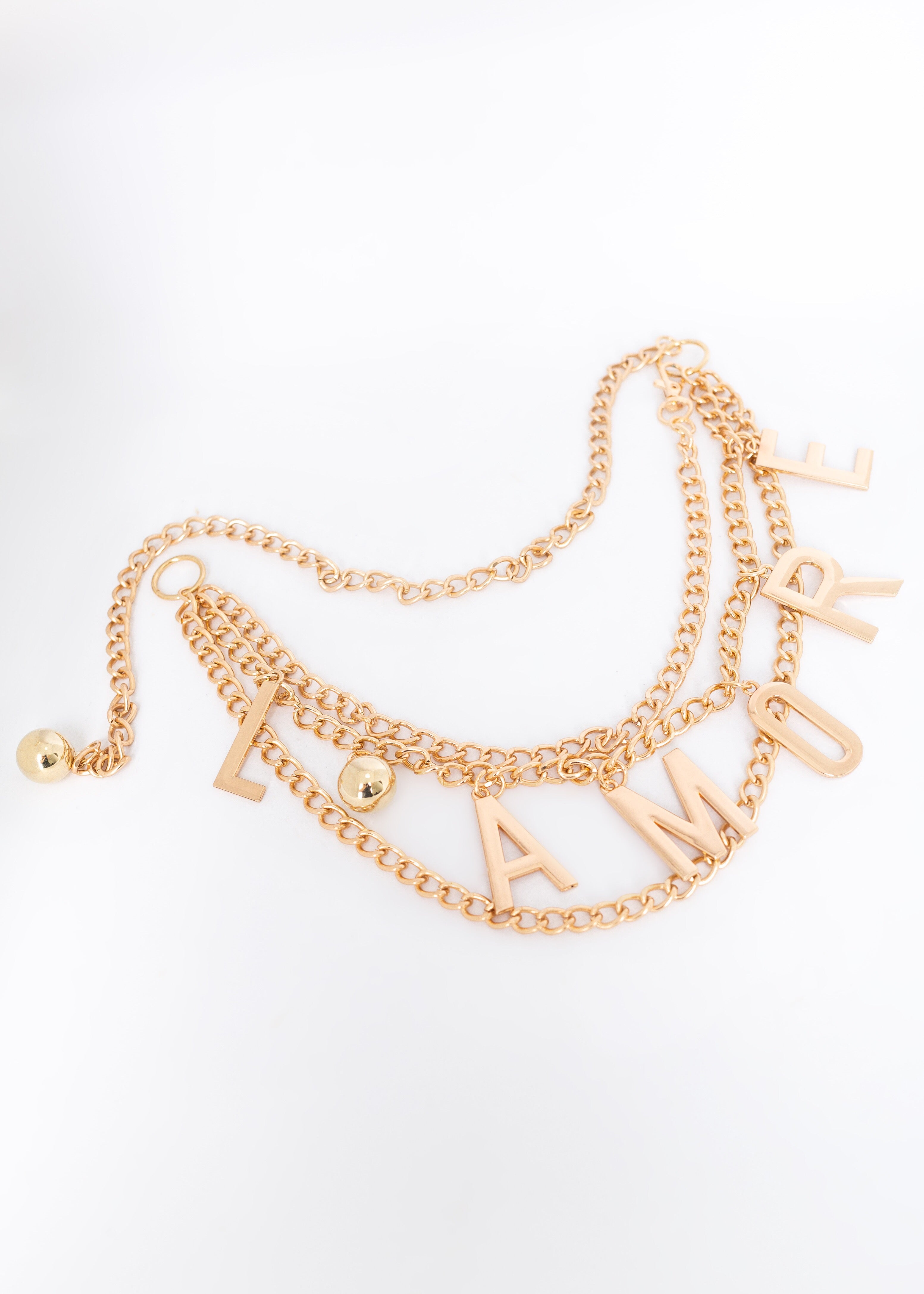 L'amore Hanging Chain Belt