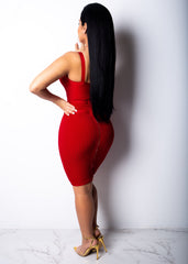 I Make Money When I Talk Red Mini Dress
