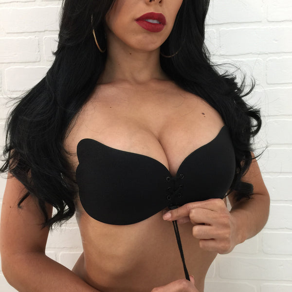 Strappy Push Up Bra